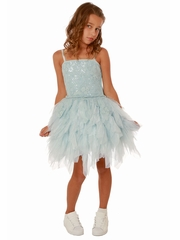 Ooh! La La! Couture Light Blue WOW Emma Dress