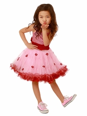 Ooh! La La! Couture Lips WOW Pouf Pink Dress