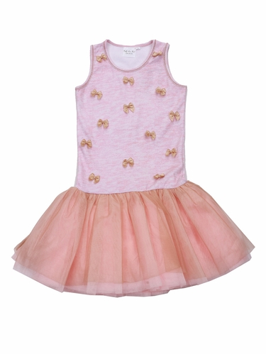 Ooh! La La! Couture Pink Little Bows Dress