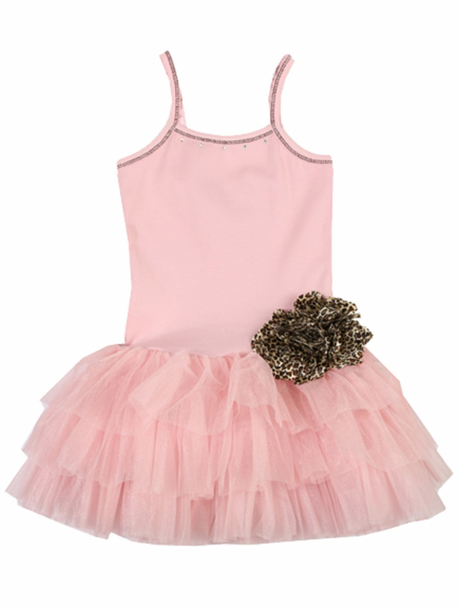 Ooh la la couture pink parfait tutu flower dress for La couture clothing