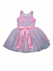 Ooh! La La! Couture Pink Tie Bow Dress