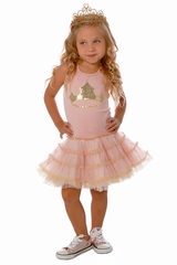 Ooh! La La! Couture RES171811 Pink Princess Crown Poufy