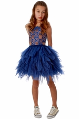 Ooh! La La! Couture Royal Blue WOW Emma Dress
