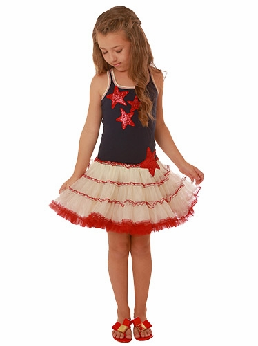 Ooh! La La! Couture Sequin Stars 4th Of July Dress