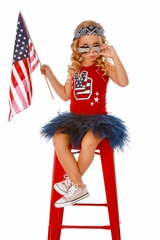 Ooh! La La! Couture SS1813 4th Of July Dress
