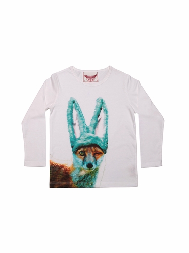 Paper Wings Cheeky Fox Tee