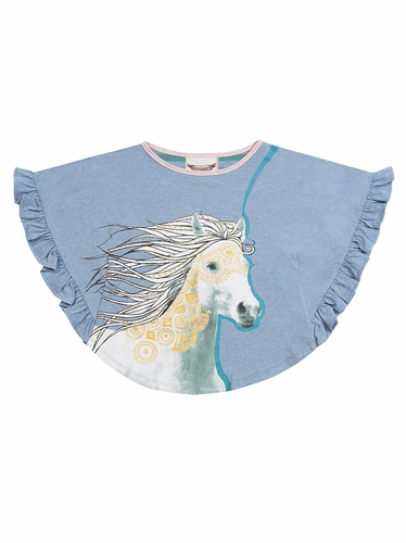 Paper Wings Pony Swing Tee