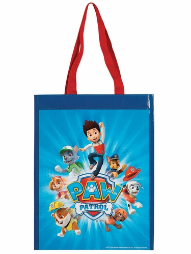 Paw Patrol Canvas Treat Bag