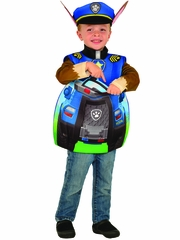 Paw Patrol Chase Costume w/ Candy Catcher Pouch