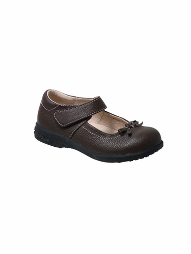 Pediped - Isabella Chocolate Brown Mary Janes