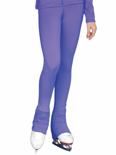 Periwinkle ChloeNoel Solid Color Over The Heel Elite Skating Pants w/ Front Pocket