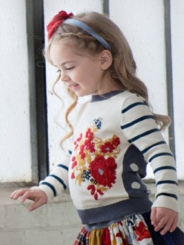 Persnickety Penny Lane Flora Sweater