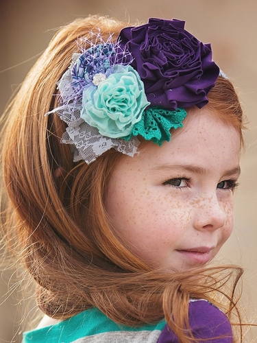 Persnickety Plum Collection Rosa Headband