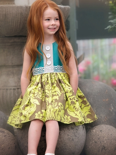 Persnickety Sweet Pea Maggie Dress