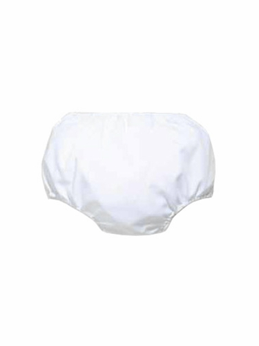 Petit Ami Boys White Diaper Cover