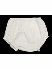 Petit Ami Girls White Diaper Cover