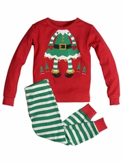Petit Lem 2 PC Girl Elf Pajama Set