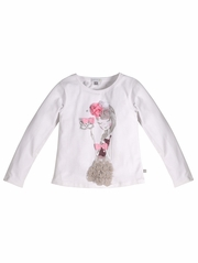 Petit Lem Miss Masquerade Long Sleeve Top