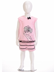 Petit Lem Sleep 2PC Dance Pajama Short Set
