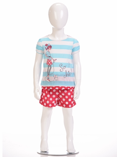 "Petit Lem Sleep 2PC ""So Chic"" Pajama Short Set"