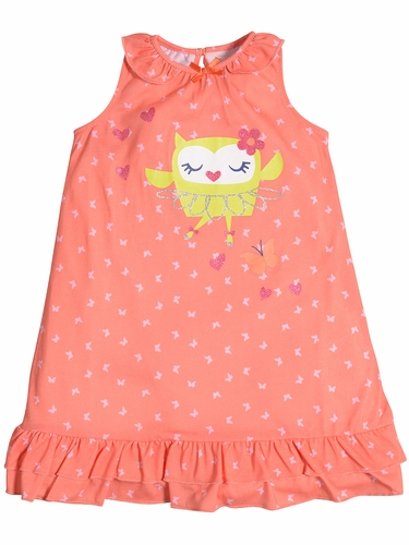 Petit Lem Sleep Owl Ballet Butterfly Night Gown