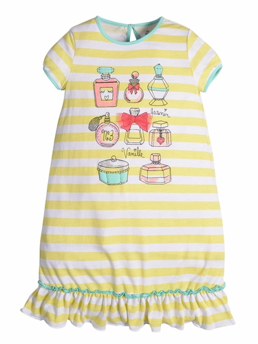 Petit Lem Sleep Paris Perfume Pajama Dress