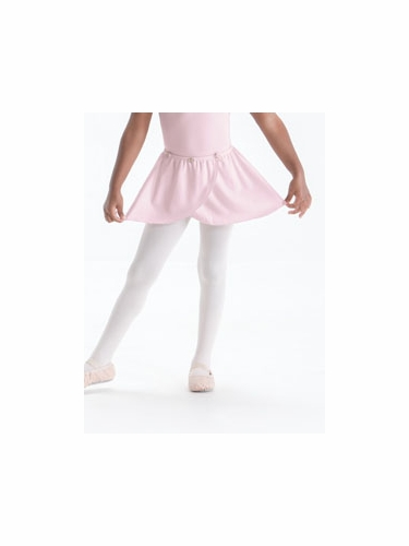 Pink Motionwear Pull On Wrap Skirt