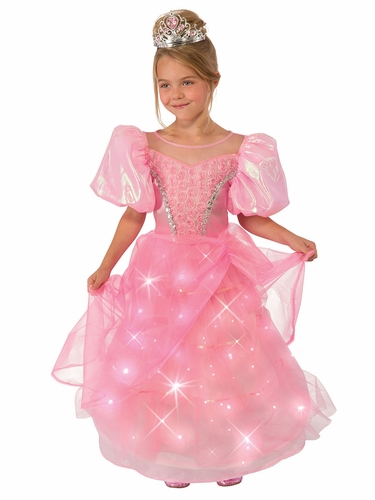 Pink Princess Light Up Costume