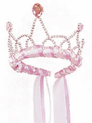 Pink Ribbon Princess Playtime Tiara