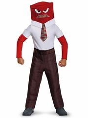 Pixar Inside Out Movie Anger Costume