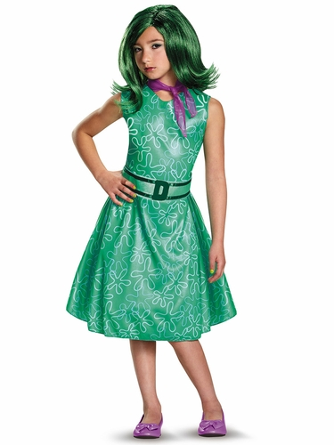 Pixar Inside Out Movie Disgust Costume
