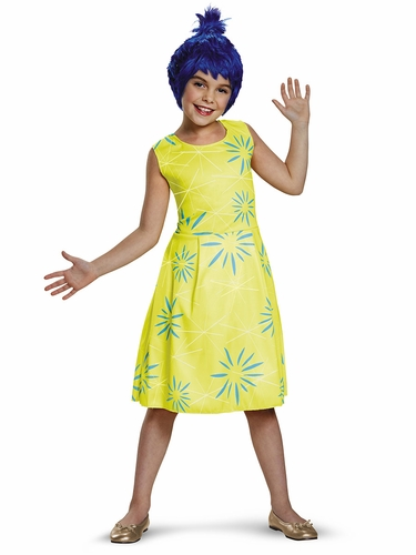 Pixar Inside Out Movie Joy Costume