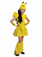 Pokémon Girls Pikachu Costume