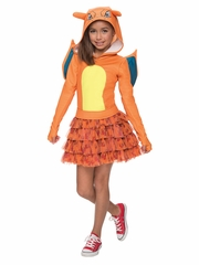 Pok�mon Kids Charizard Hoodie Dress