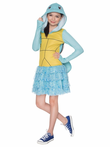 Pokémon Kids Squirtle Hoodie Dress