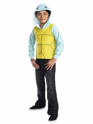 Pokémon Kids Squirtle Hoodie w/ Shell & Tail