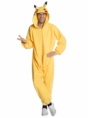 Pokémon One Piece Adult Pikachu Costume