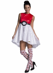 Pokemon Adult Pokeball Costume