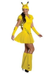 Pokemon Women's Pikachu Costume