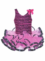 Popatu Hot Pink Dance Dress