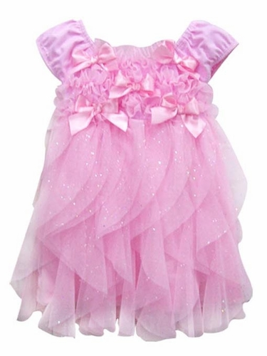 Popatu Pink Bow Dress