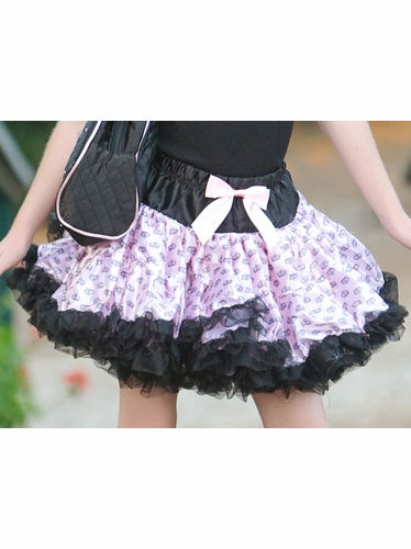 Popatu Pink Crown PettiSkirt