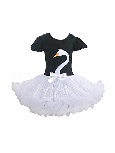 Popatu White Swan Pettidress