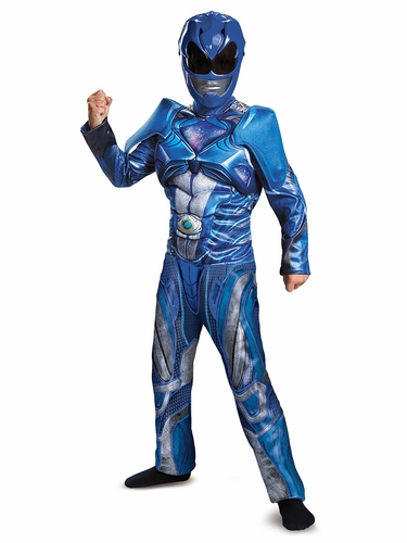 Power Rangers Blue Ranger Movie Classic Muscle