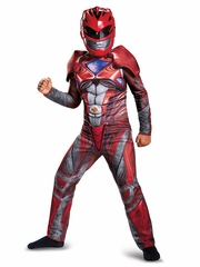 Power Rangers Red Ranger Movie Classic Muscle
