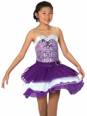 Jerry's 120 Purple Dancing Violets Dress