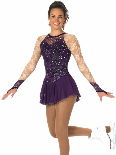 Jerry's 73 Purple Lace Every Place Dress