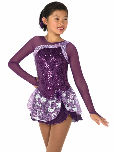 Jerry's 45 Purple Tryst of Amethysts Dress