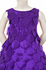 Purple Money Tree Dress with Purse