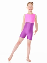 Purple Mondor Shiny Tank Unitard